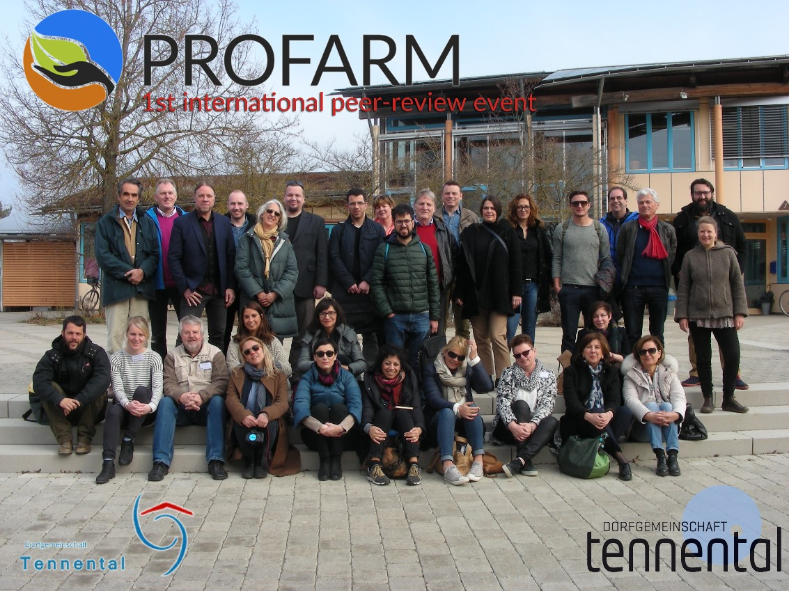 Group photo of international peers
